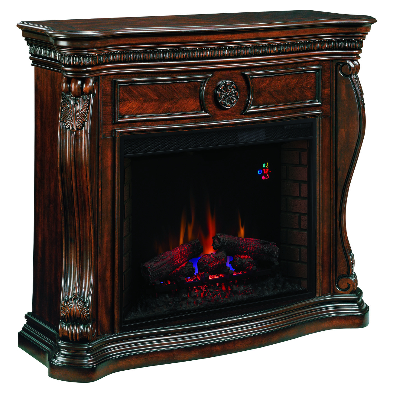 Classic Flame Lexington Wall Mantel Electric Fireplace 33WM881-C232 33II310GRA Infrared Electric Fireplace Insert
