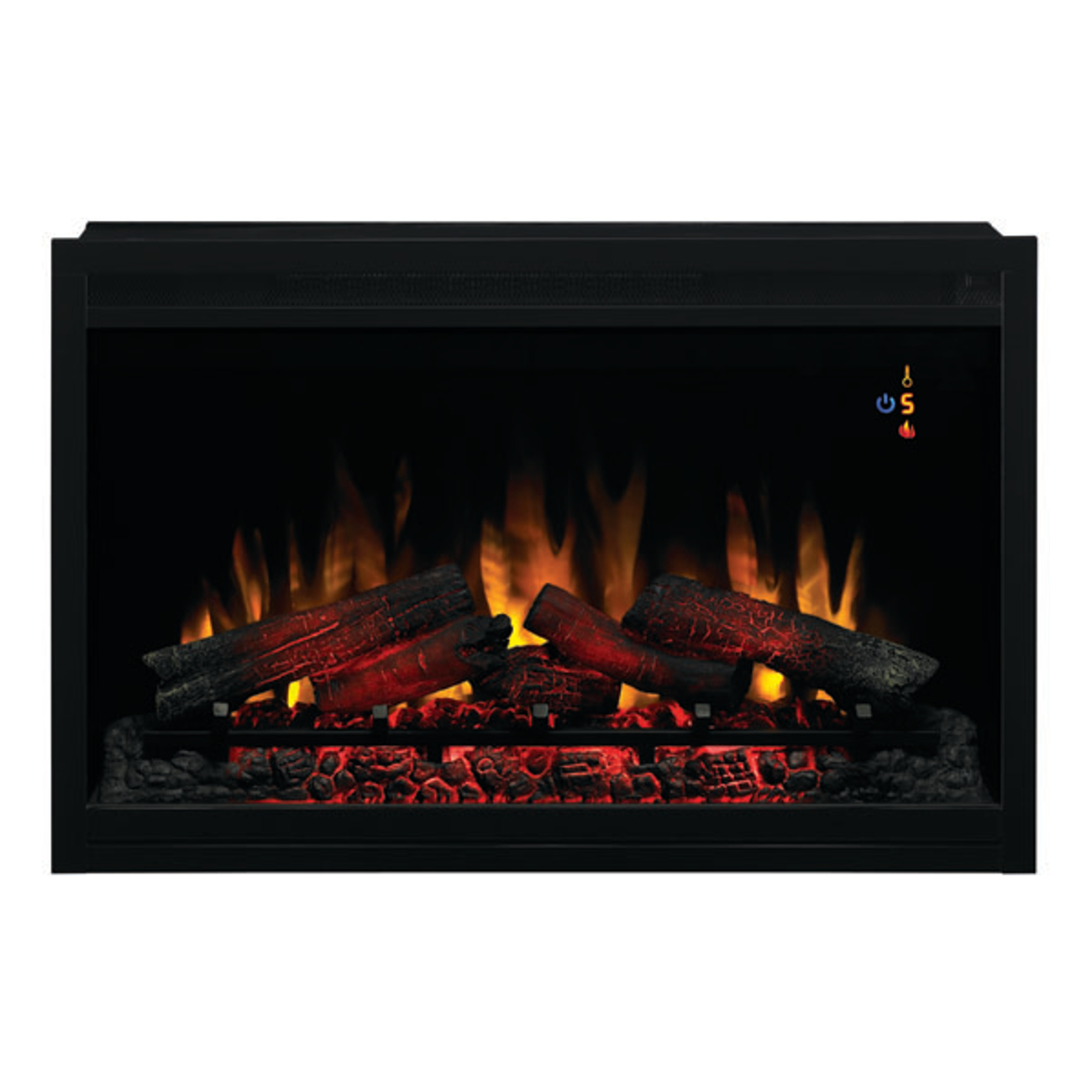 Classic Flame 36-Inch 36EB220-GRT 240V Traditional Builders Box Electric Fireplace