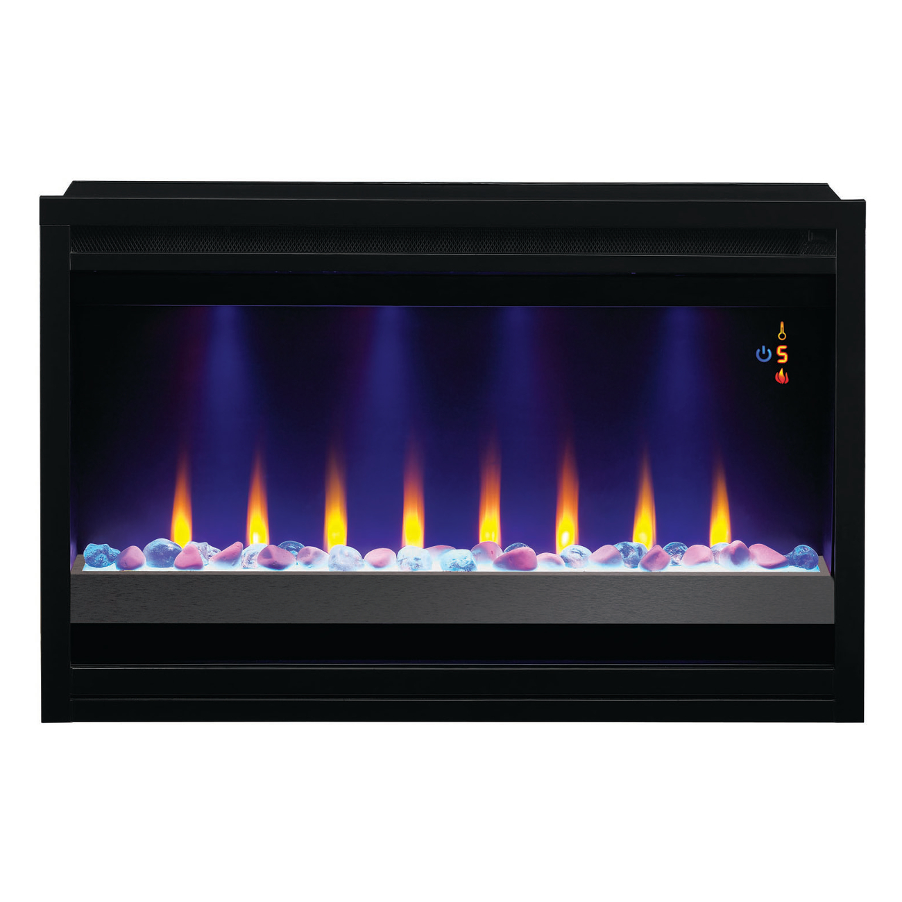 Classic Flame 36 Inch 36eb221 Grc 240v Contemporary Builders Box