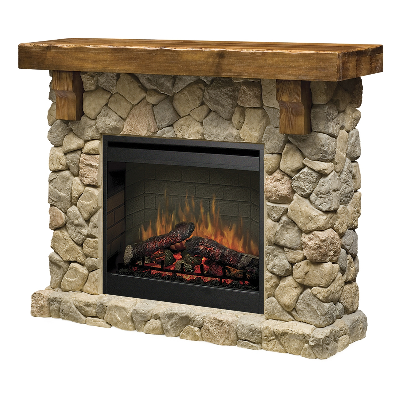 Dimplex fieldstone smp 904 st electric fireplace wall mantel addco electric fireplaces - Fire place walls ...