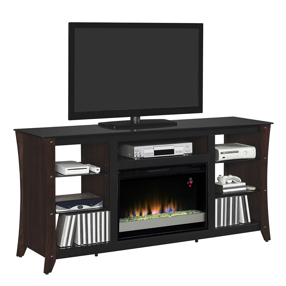 ClassicFlame Marlin Media Mantel Midnight Cherry 26MM