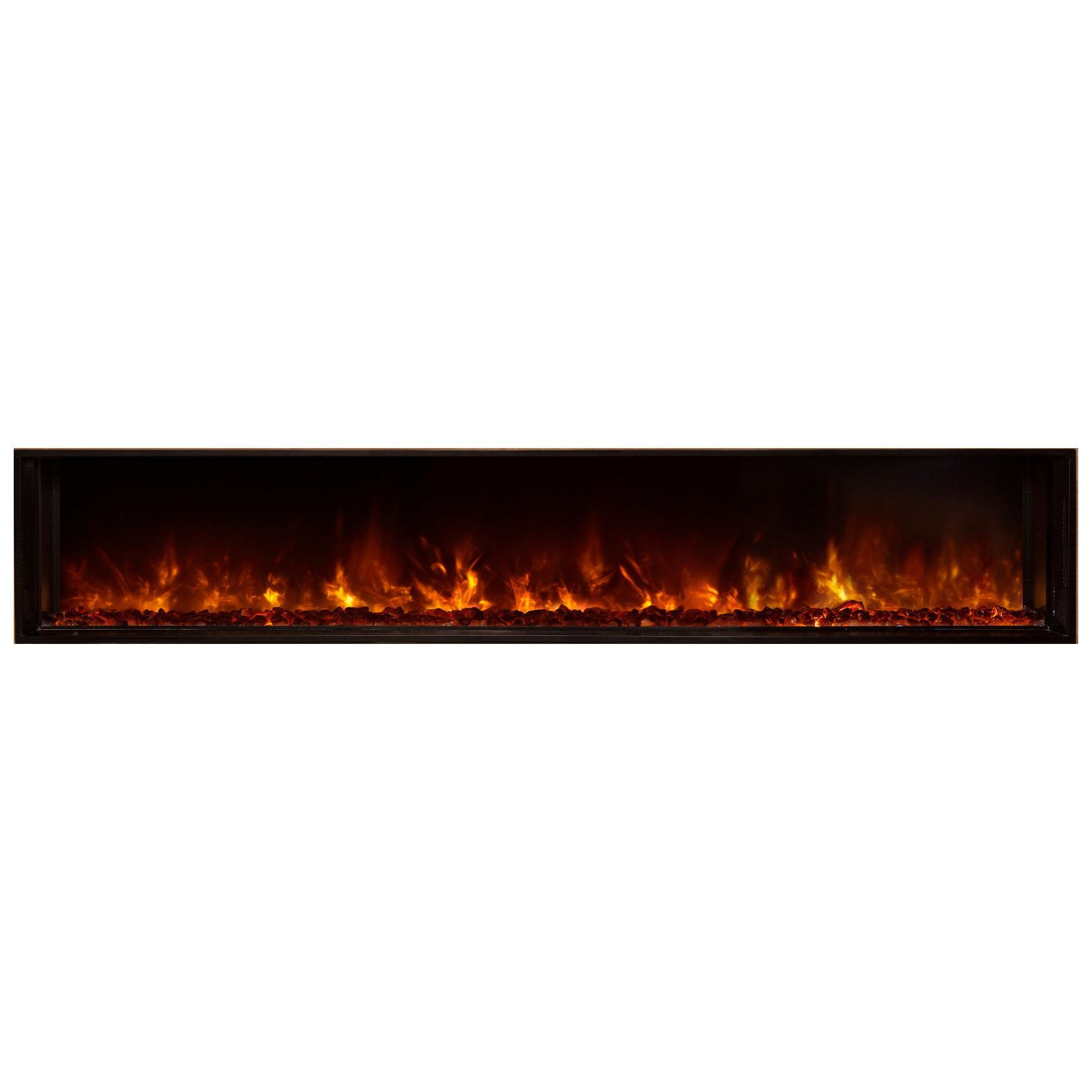 Modern Flames 80 Lfv80 15 Sh Landscape Fullview Built In Electric Fireplaces