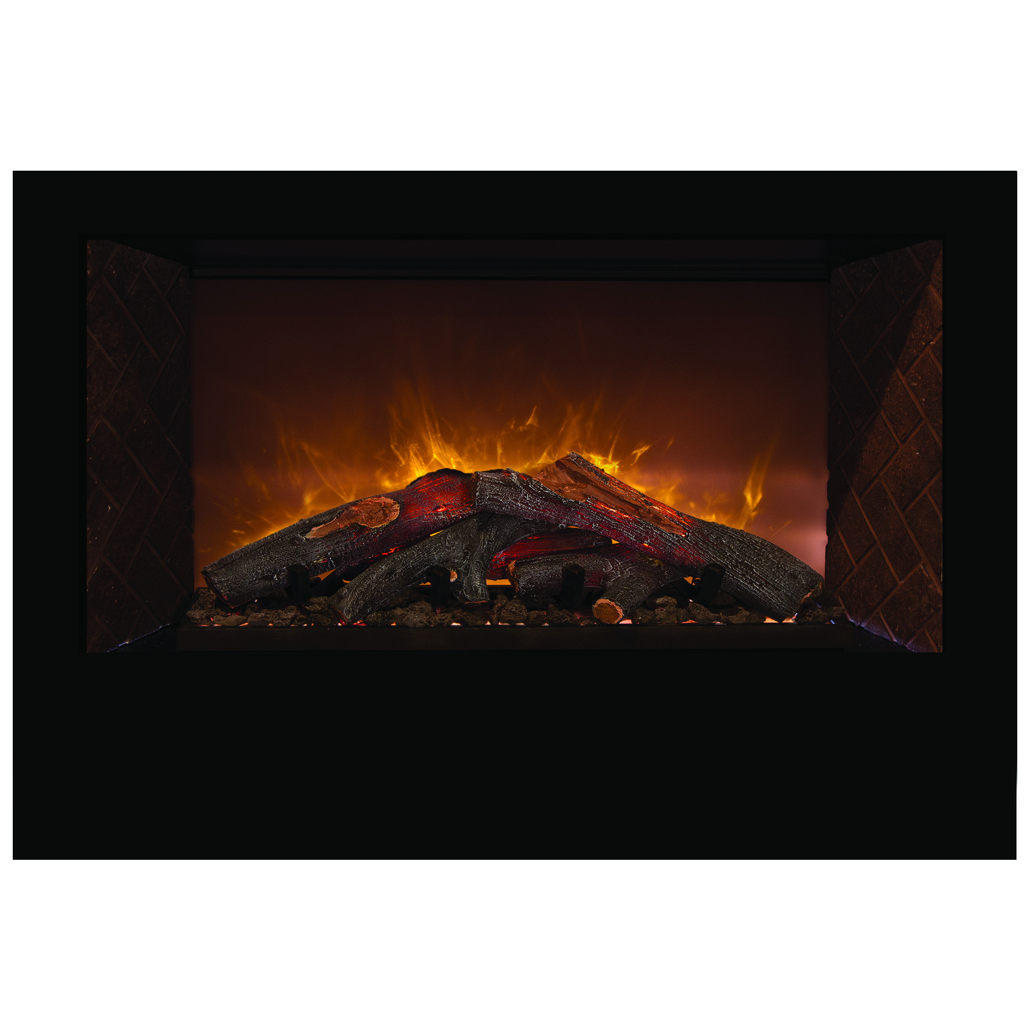 Modern Flames Hf60cbi Home Fire Custom Built In Electric Fireplace Electric Fireplaces