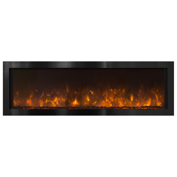 Modern Flames 60 Nova 60 G Indoor Outdoor Electric Fireplace Electric Fireplaces