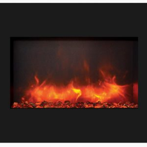 amantii 30u2033 zecl3226bg zero clearance electric fireplace - Electric Fireplaces Clearance