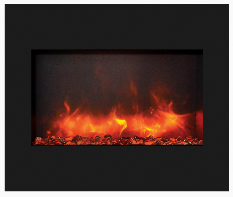 Amantii 30 Zecl 3226 Bg Zero Clearance Electric Fireplace Electric Fireplaces
