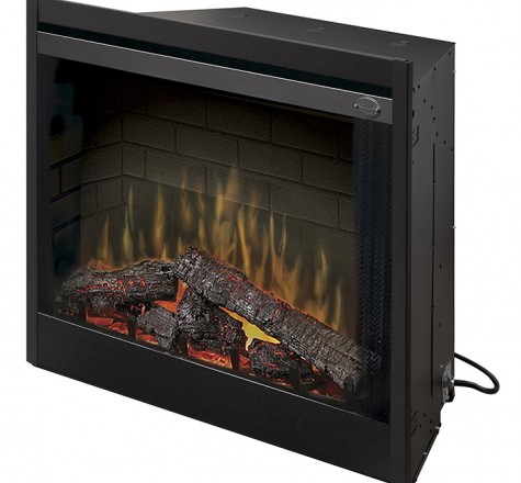 """Dimplex 39"""" BF39DXP Deluxe Electric Fireplace Insert"""