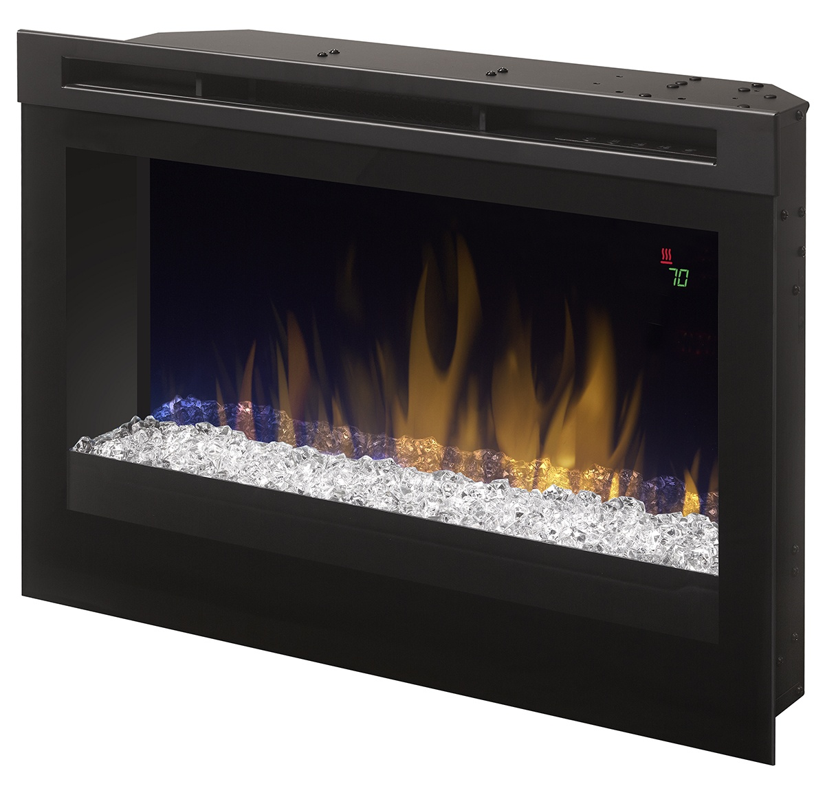 dimplex 25 prime dfr2551g electric fireplace insert