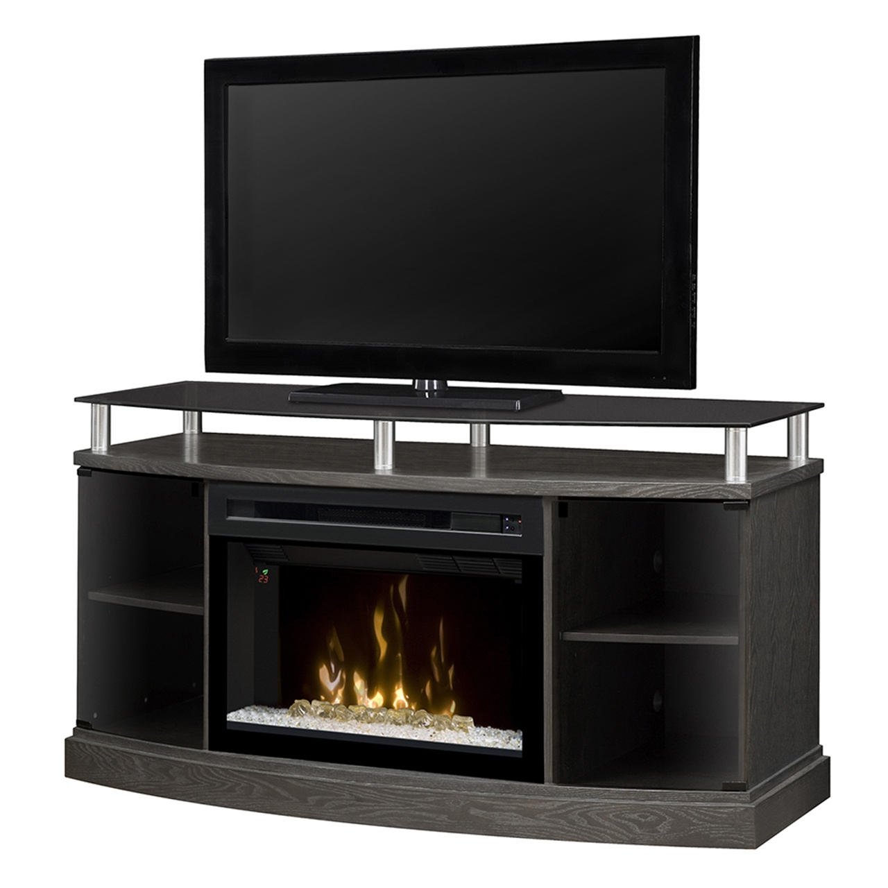 Dimplex Windham GDS25CG-1015SC Electric Fireplace Media Console ...