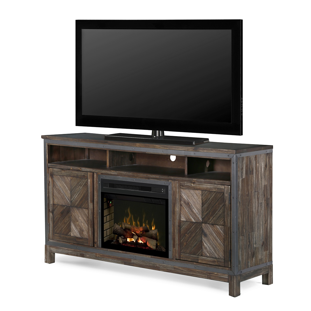 dimplex wyatt gds25ld 1589by electric fireplace media console