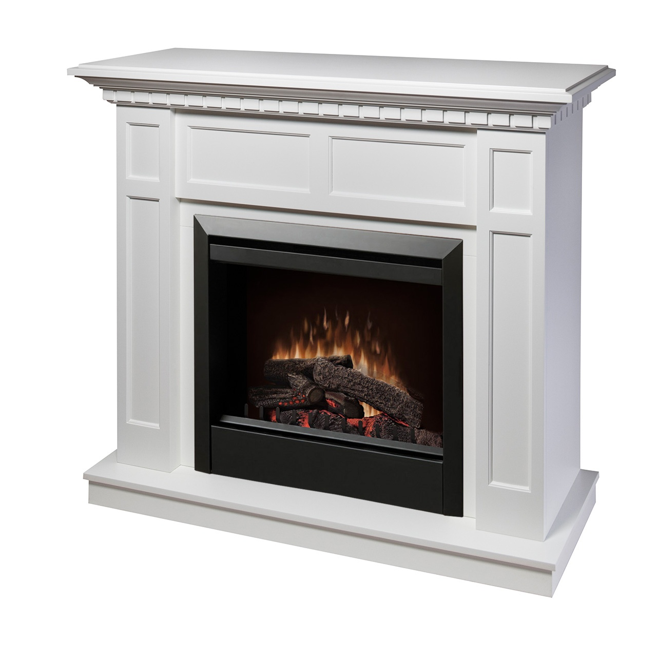 Dimplex Caprice Dfp4743w Electric Fireplace Wall Mantel Electric Fireplaces