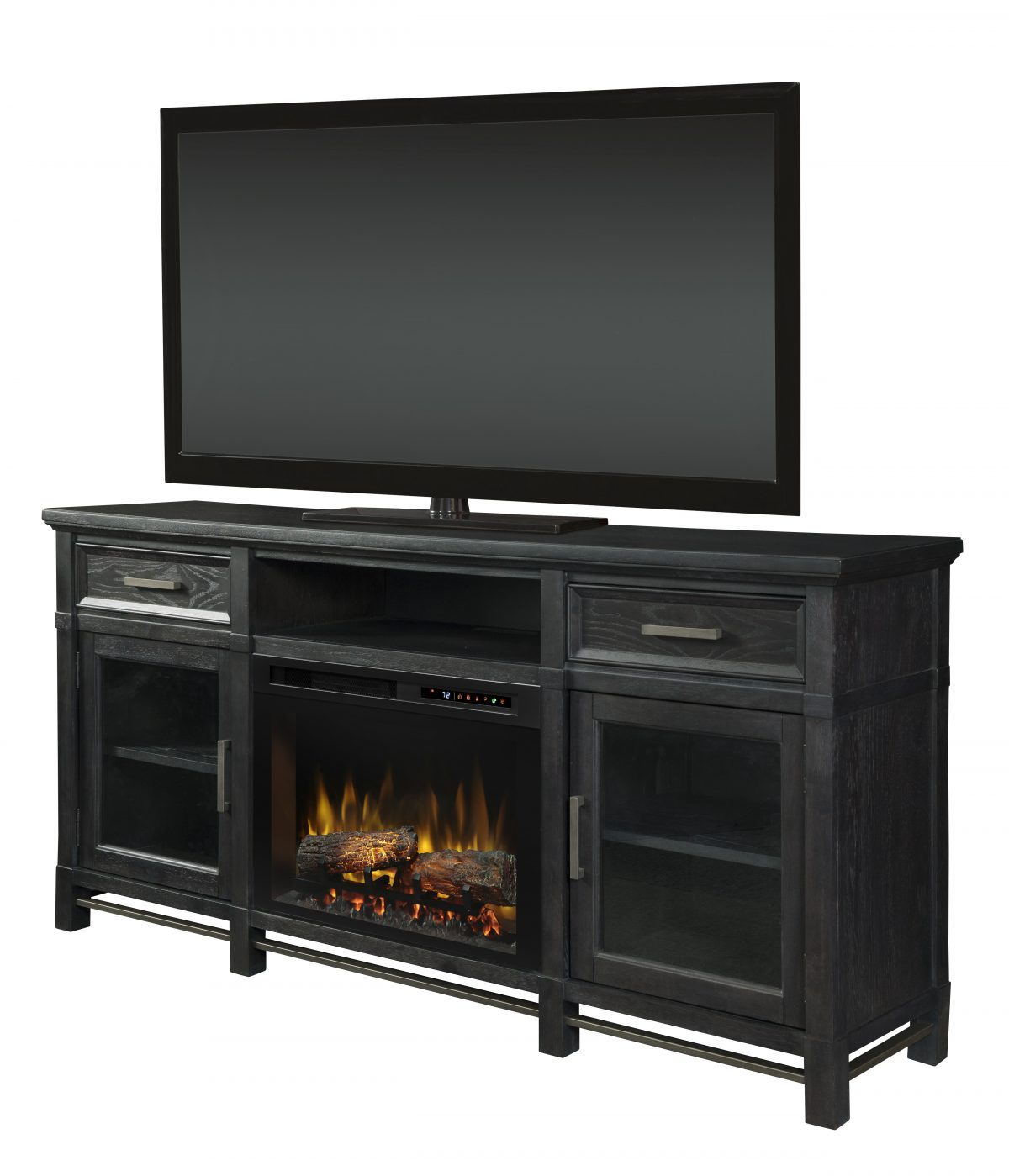 Dimplex Jane Inkwell Mantel with Electric Fireplace Insert