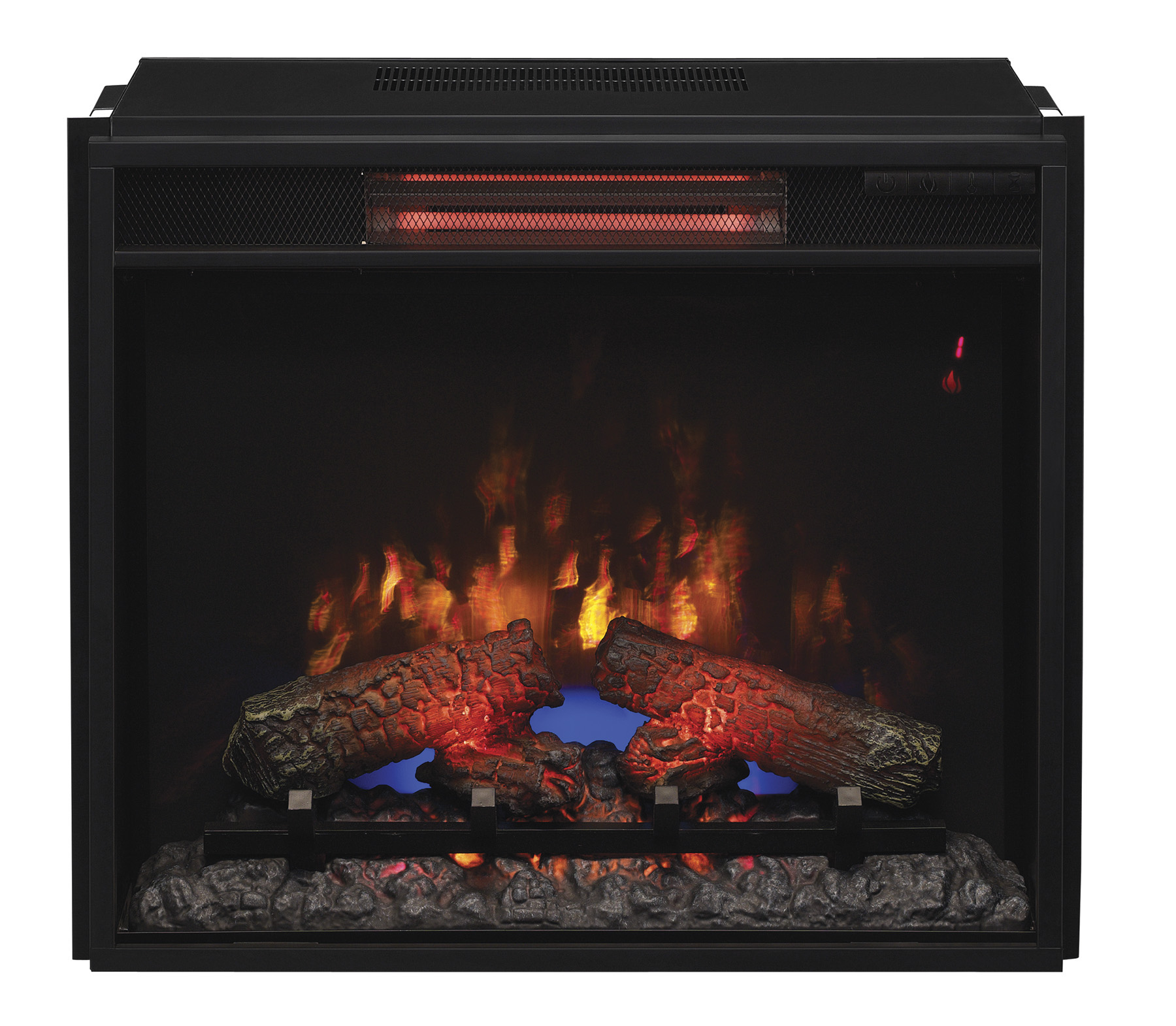 """Classic Flame 23"""" 23II310GRA Infrared Electric Fireplace"""