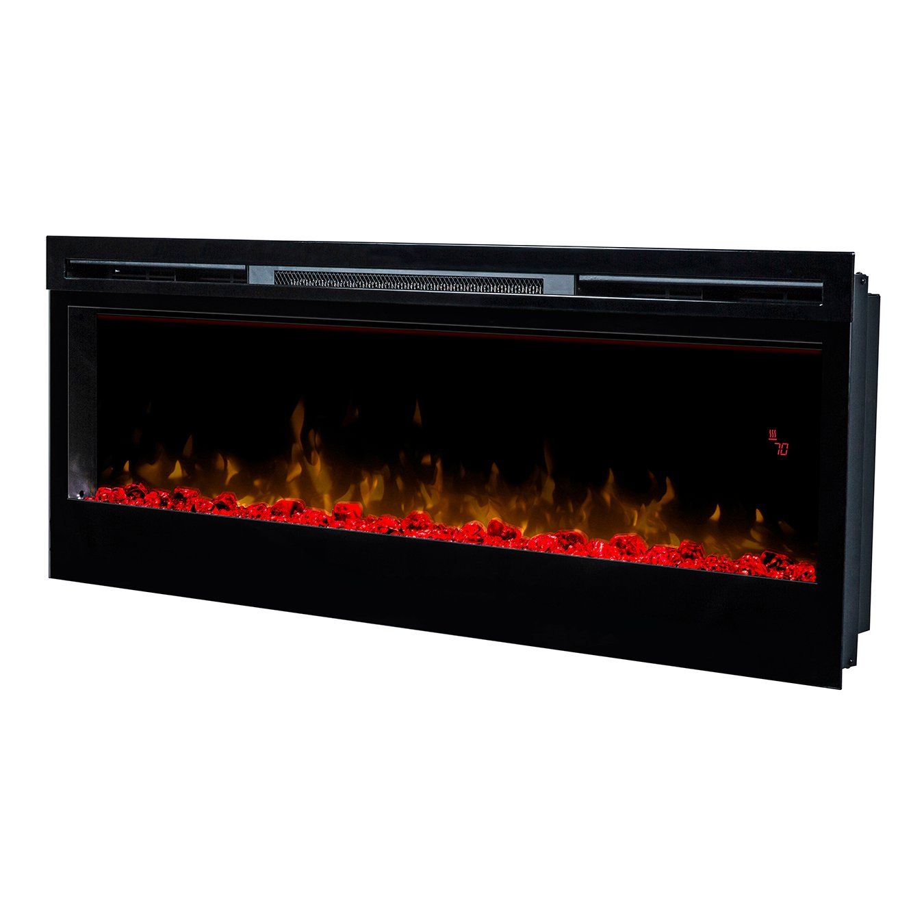 50 Electric In Wall Recessed Fireplace Heater
