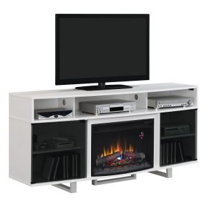 Clic Flame Enterprise Lite 26mm9665 Nw145 Electric Fireplace Media Console Fireplaces