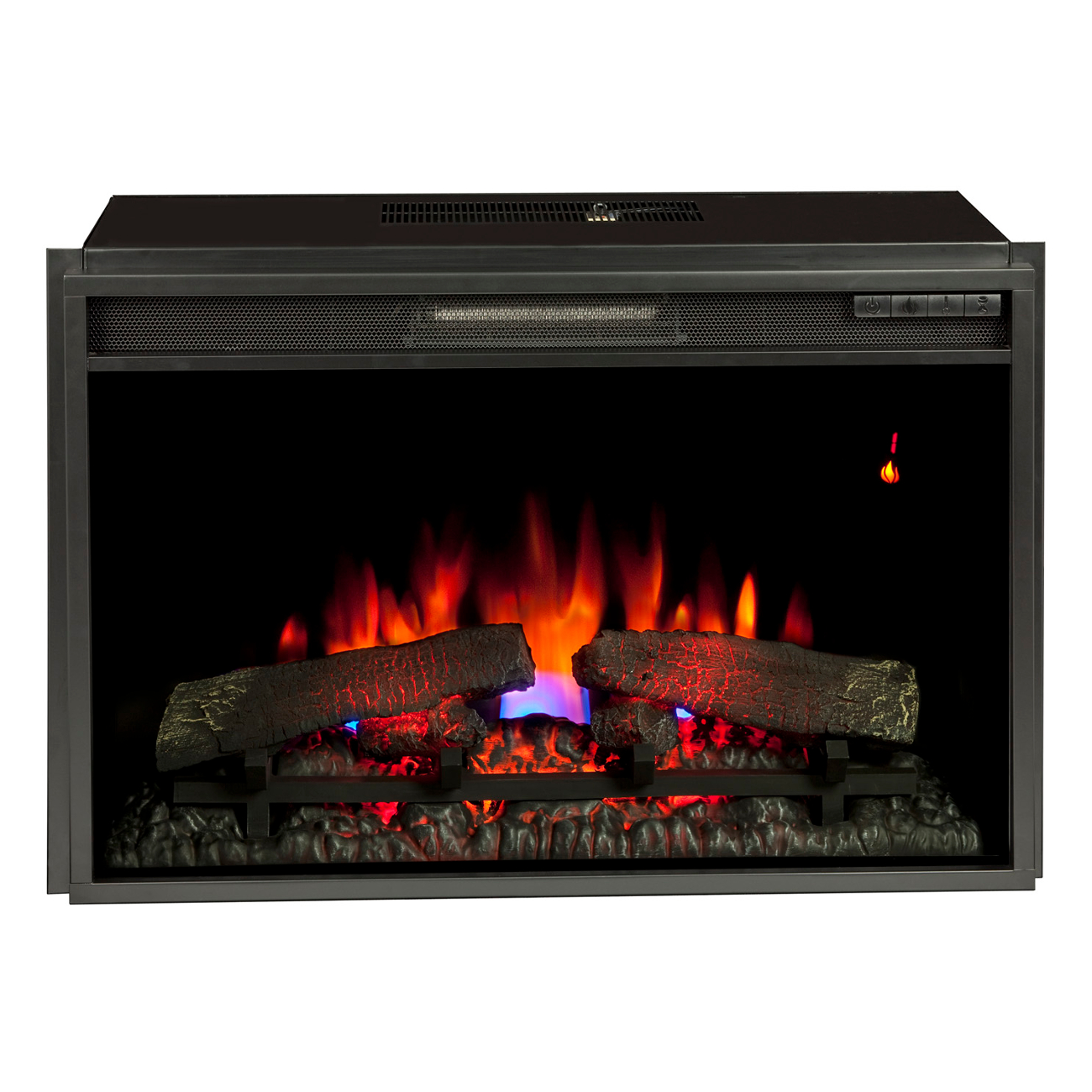 "Classic Flame 26"" 26EF031GRP Electric Fireplace Insert ..."