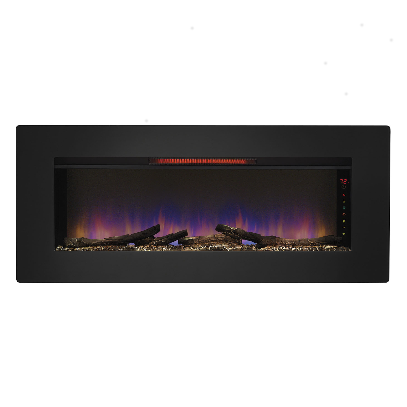Classic Flame Quot Felicity Quot Infrared Electric Fireplace Wall