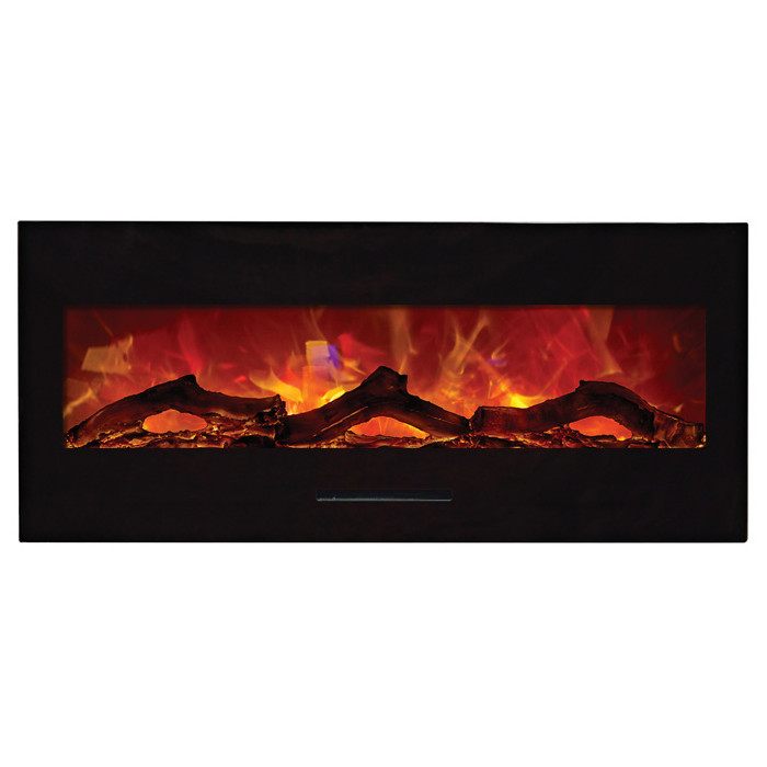 Amantii 50 Quot Wm Fm 50 Bg Electric Fireplace Wall Mount