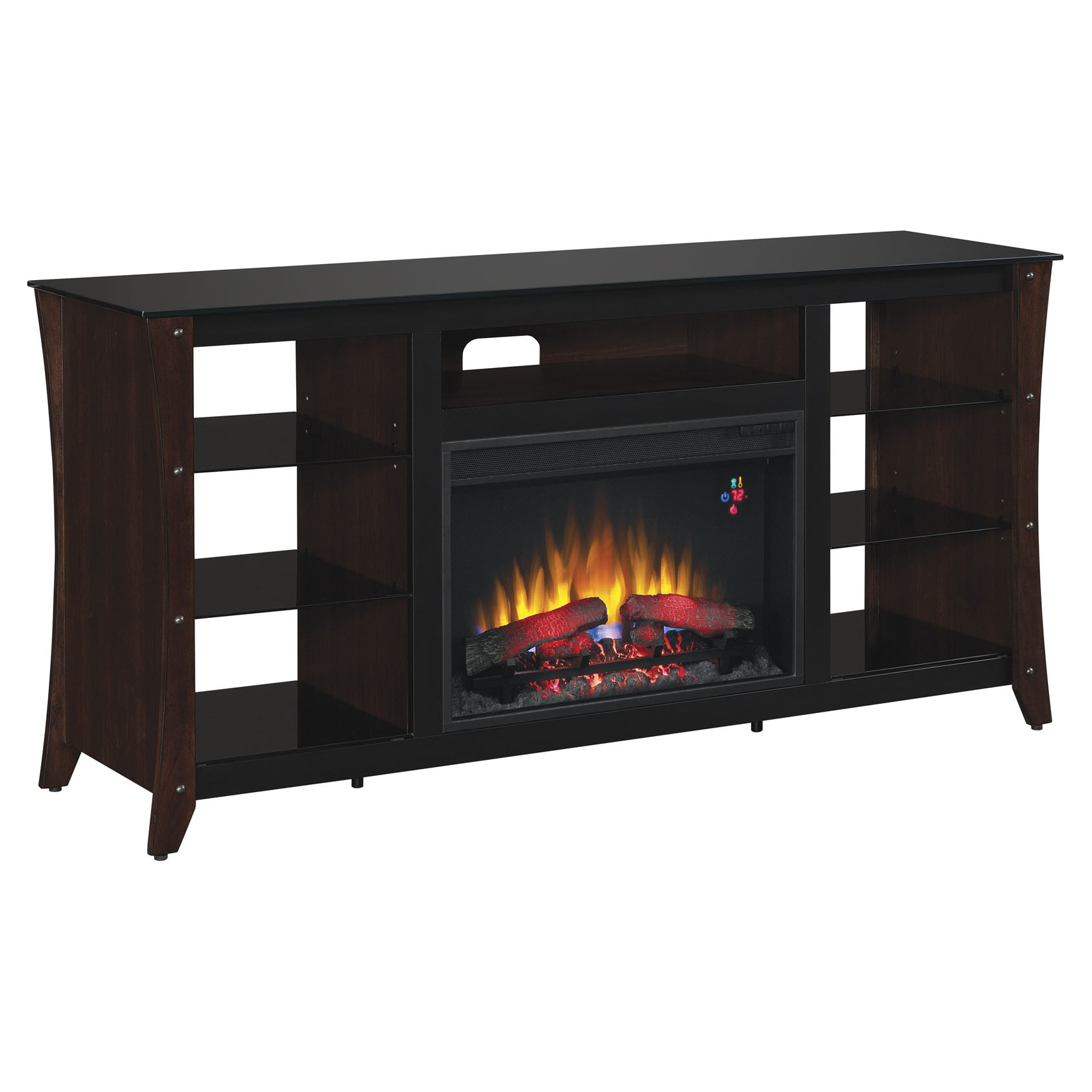 Classic Flame Marlin Media Mantel 26mm9689 Nc72 Midnight Cherry Electric Fireplaces