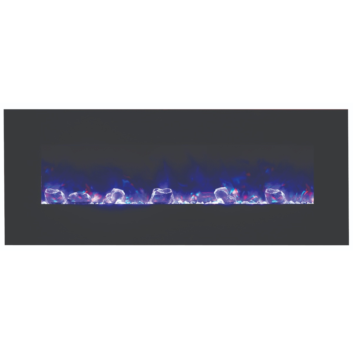 amantii 48 inch contemporary electric fireplace