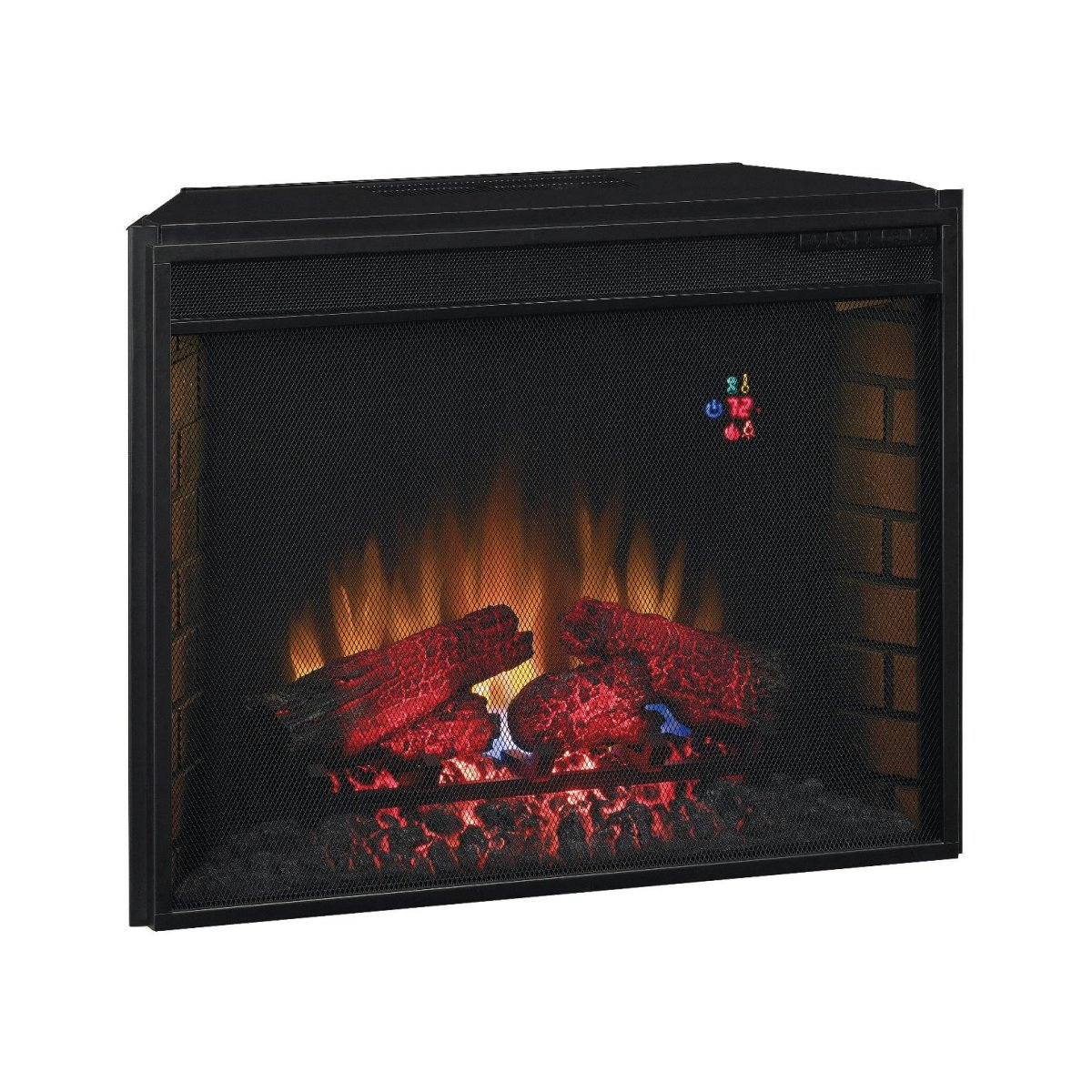 28in Electric Fireplace Insert