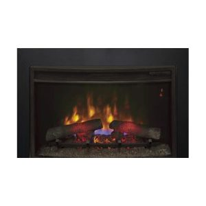 Clic Flame 26 26ef031grp Electric Fireplace Insert W Custom Trim Fireplaces