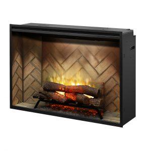 "RBF42 Dimplex Revillusion® 42"" Built-in Electric Firebox"