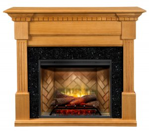 Awesome Dimplex Christina Rift Oak Mantel With 30 Rbf30 Revillusion Electric Fireplace Insert Download Free Architecture Designs Rallybritishbridgeorg