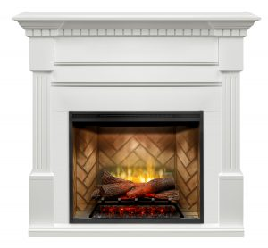 Astonishing Dimplex Christina White Mantel With 30 Rbf30 Revillusion Electric Fireplace Insert Download Free Architecture Designs Rallybritishbridgeorg