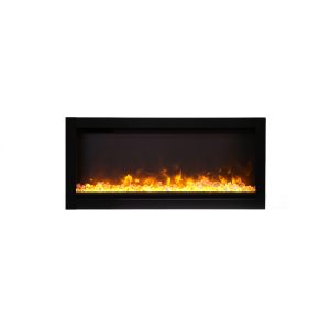 amantii SYM-34-B contemporary electric fireplace