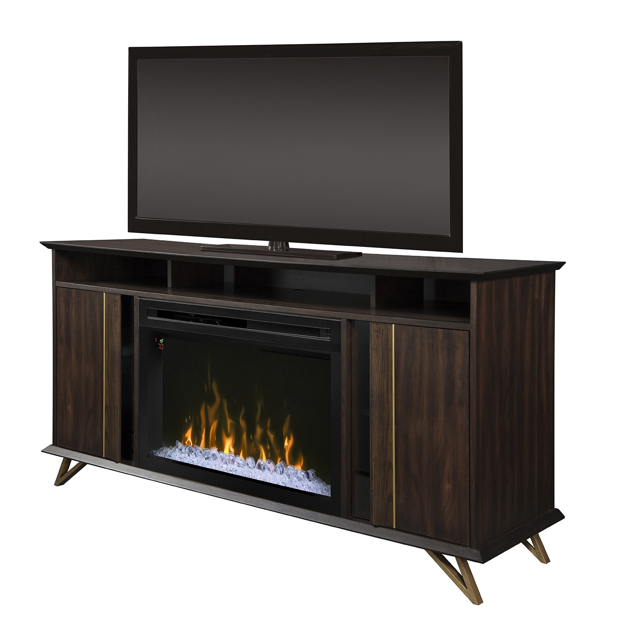 Dimplex grace gds33gd 1945ca electric fireplace with glass - Going to bed with embers in fireplace ...
