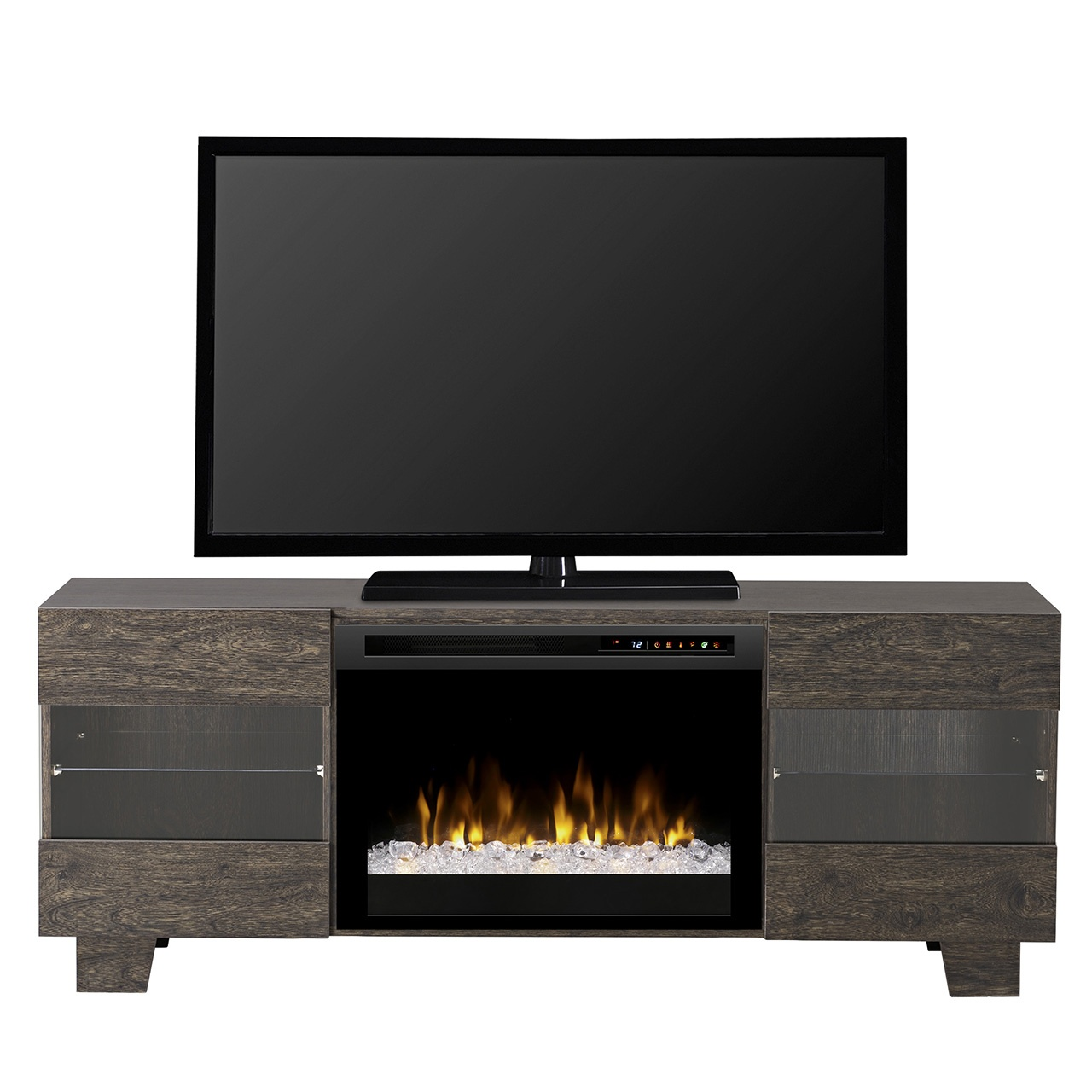 Dimplex max media console gds25g8 1651eb electric - Going to bed with embers in fireplace ...