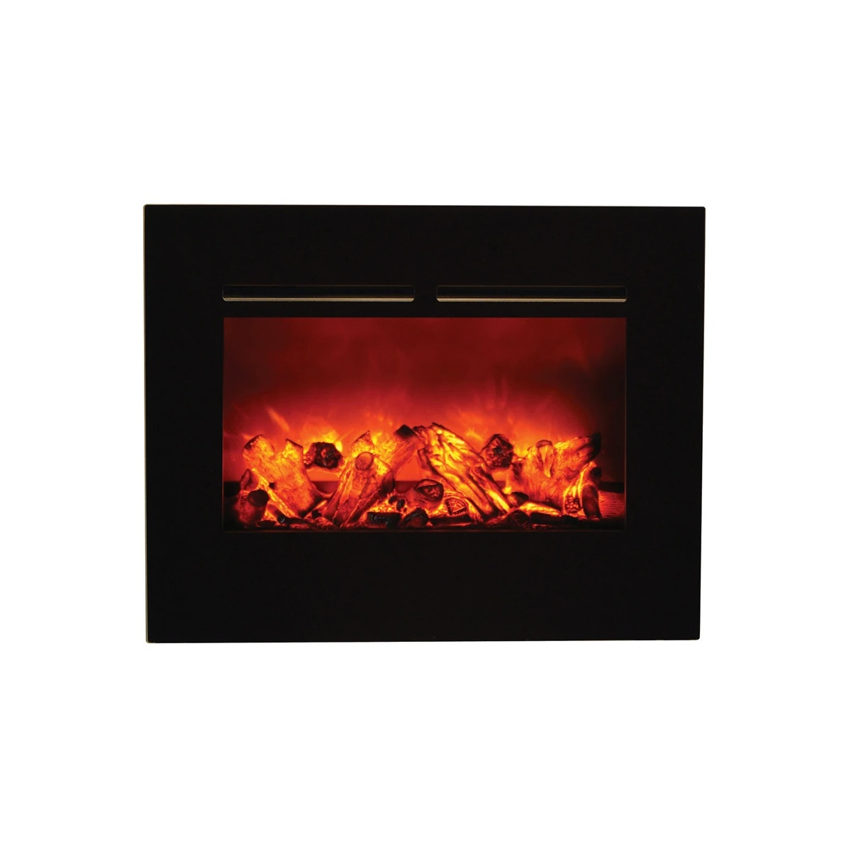 amantii 26 inch flush mount zero clearance contemporary electric fireplace insert