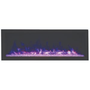 remii 45 inch contemporary electric fireplace deep