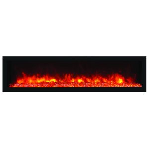 remii 65 inch contemporary electric fireplace deep