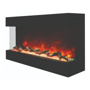 amantii-true view xl deep electric fireplace 40 inches wide