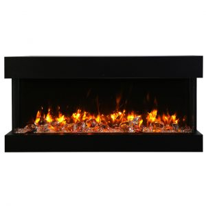 amantii 50-inch 3-sided slim electric fireplace