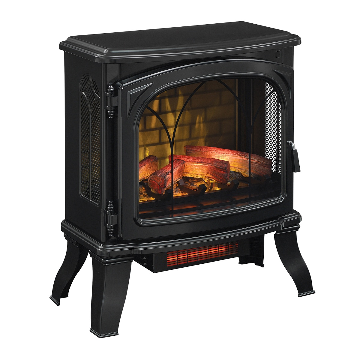 Duraflame Black Electric Stove Infrared Heater