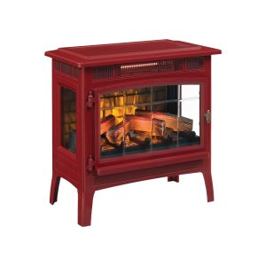 Duraflame Brick Red Infrared Electric Stove Heater