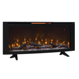 classic flame 48 inch electric fireplace for wall or tabletop