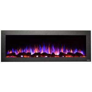 touchstone 50 inch indoor or outdoor electric fireplace no heat emitted