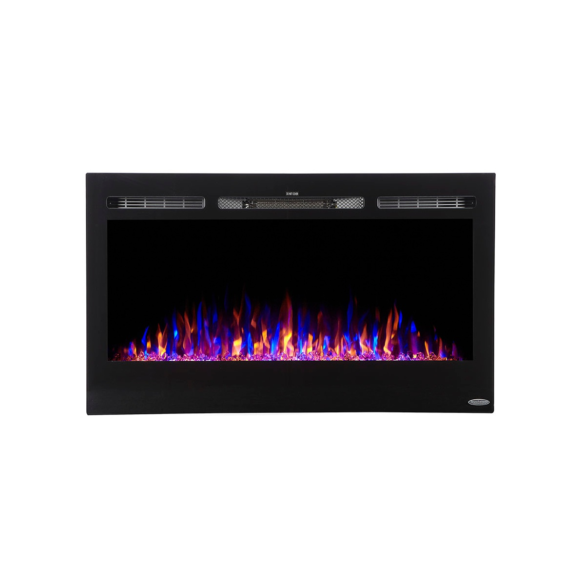 touchstone compact 36 inch electric fireplace 80014