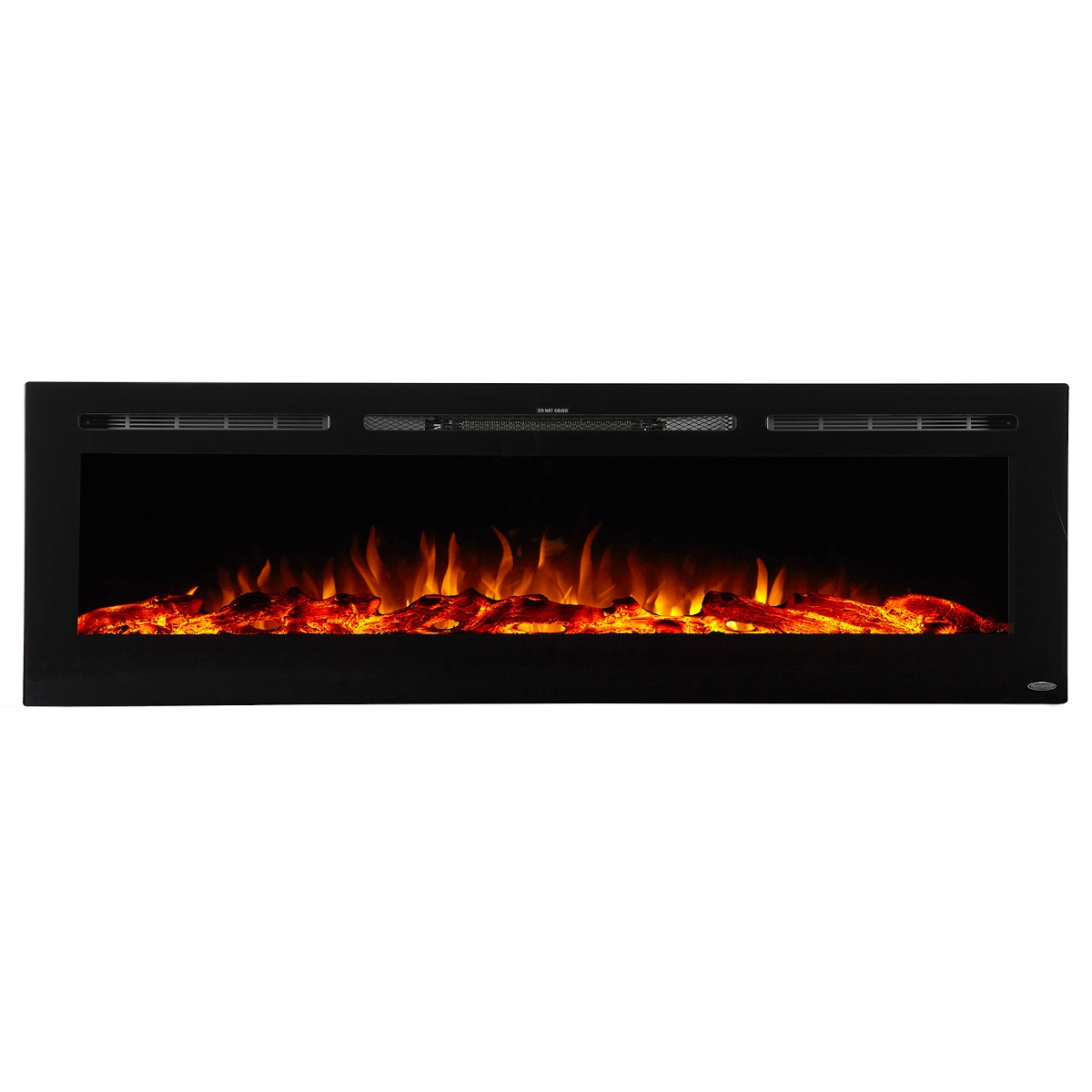72 inch linear electric fireplace 80015 by touchstone