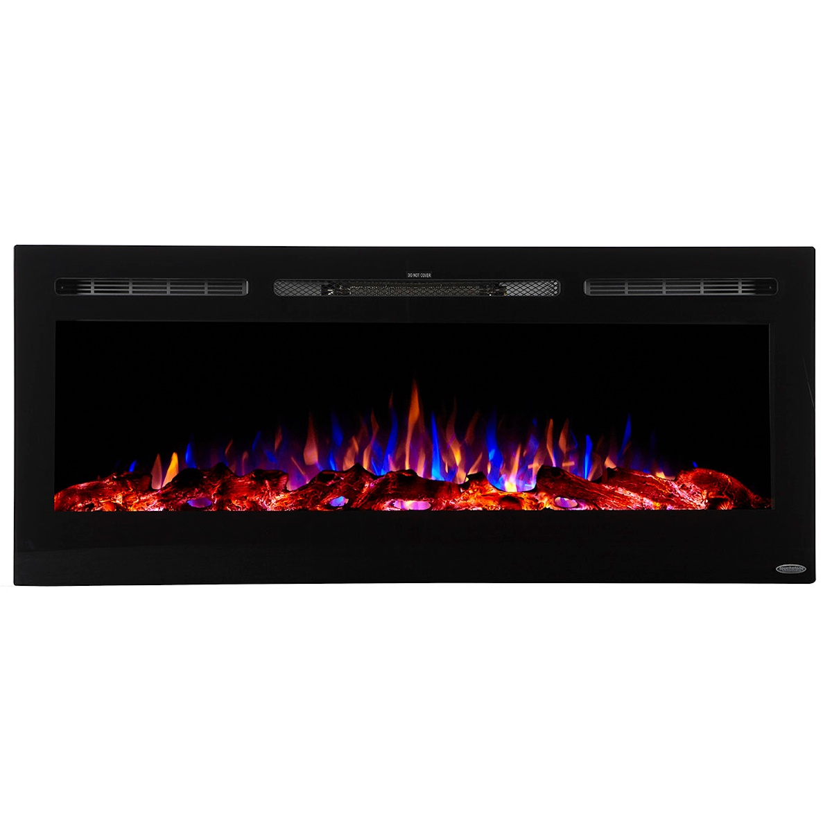 50 inch linear electric fireplace by touchstone home products