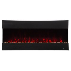 touchstone wall mount or recessed electric fireplace with surround